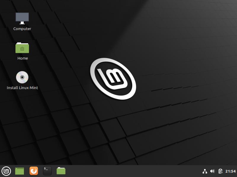 Install linux mint desktop