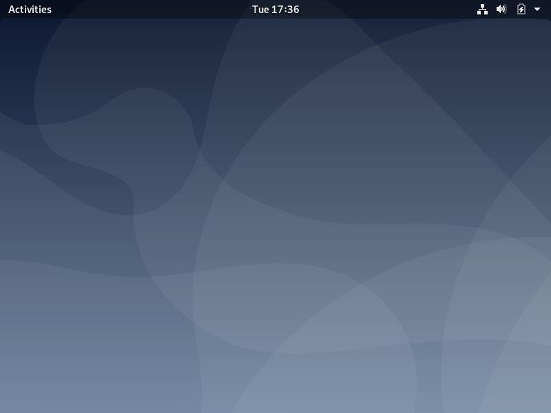 Debian 10.7 desktop fresh install