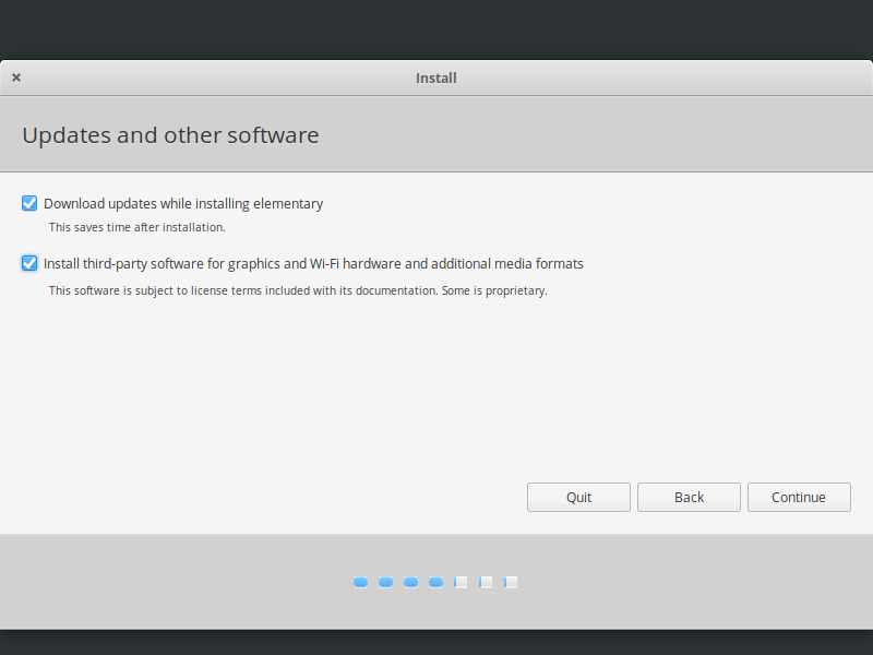 elementary os updates and other software