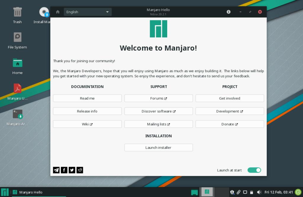 How to install Manjaro XFCE 20.2.1