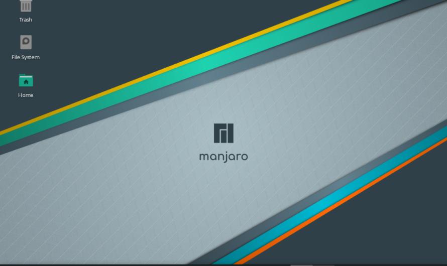 How to install Manjaro 20.2.1 XFCE